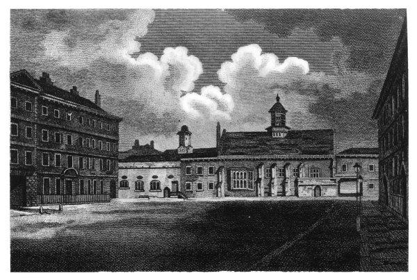 Gray's Inn Chapel & Hall, before 1822