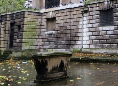 George Chapman's tomb?