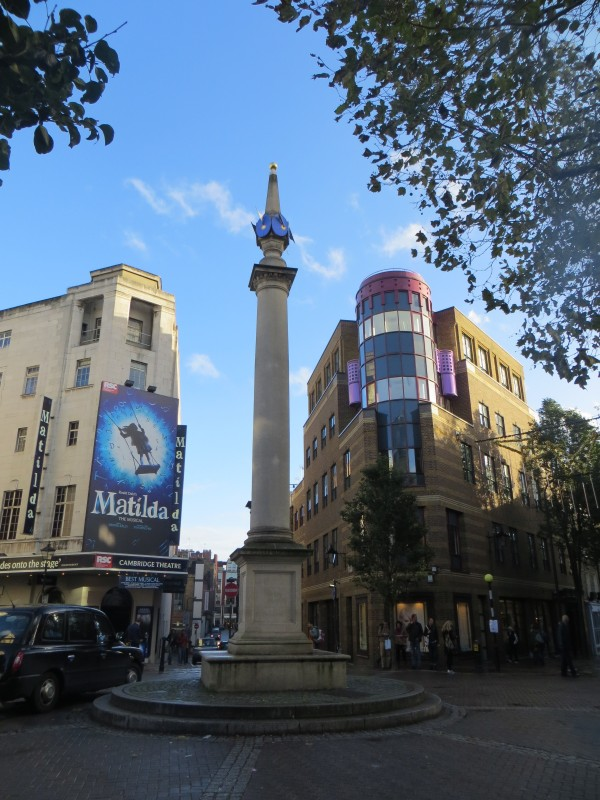 Seven Dials - the replacement column of 1988