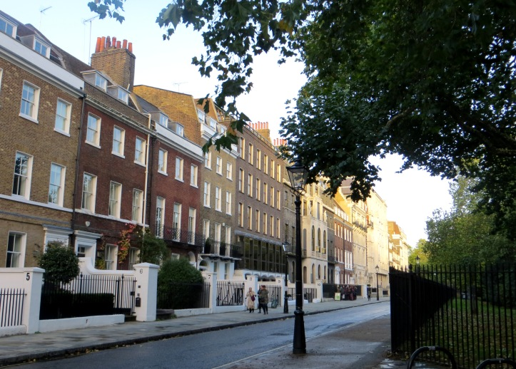 The northern side of Lincoln's Inn Fields
