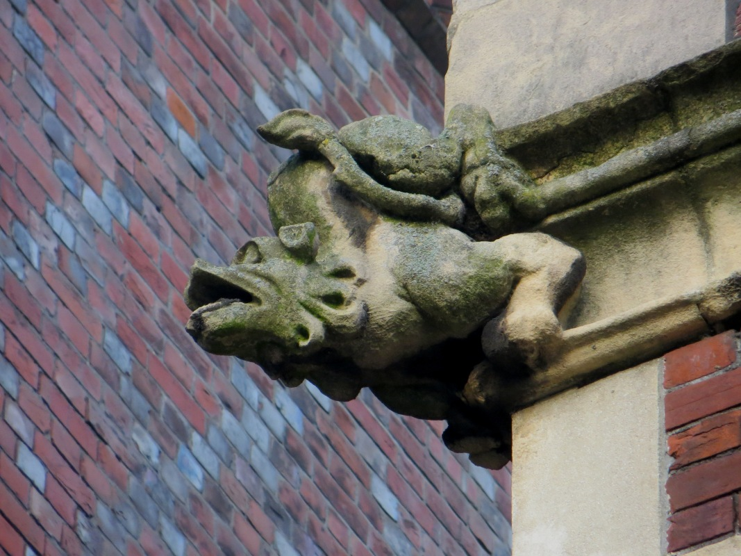 Gargoyle in Lincoln's Inn