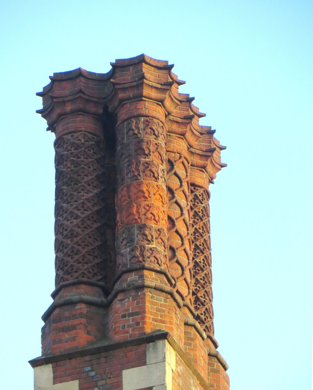 Chimney pots in Lincoldn's Inn