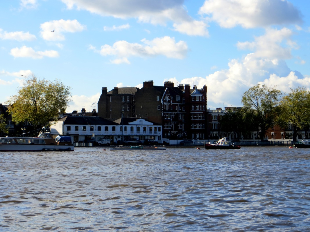 The Thames at Fulham Palace