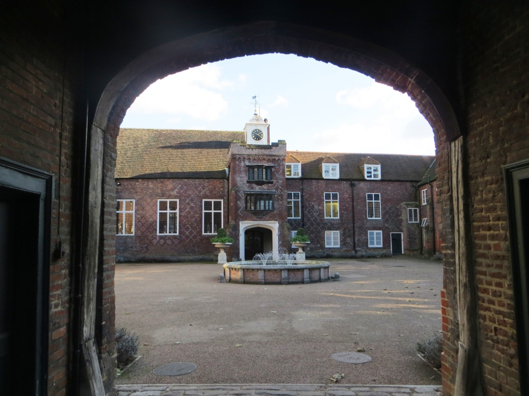 The Fitzjames Quadrangle of Fulham Palace