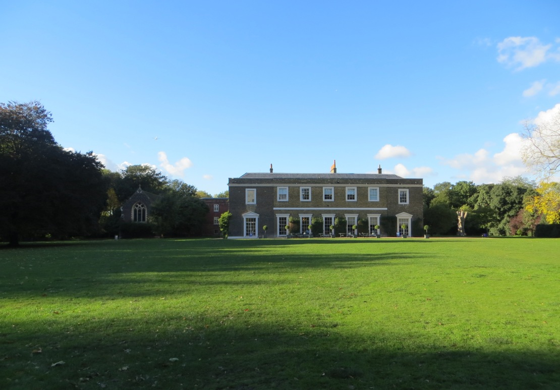 Fulham Palace, seen from the Walled Garden