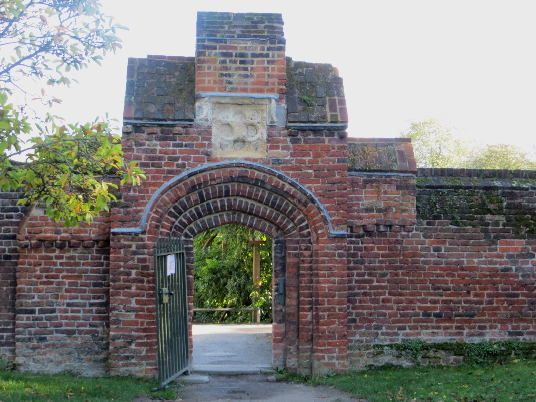 The gateway into the Walled Garden, Fulham Palace