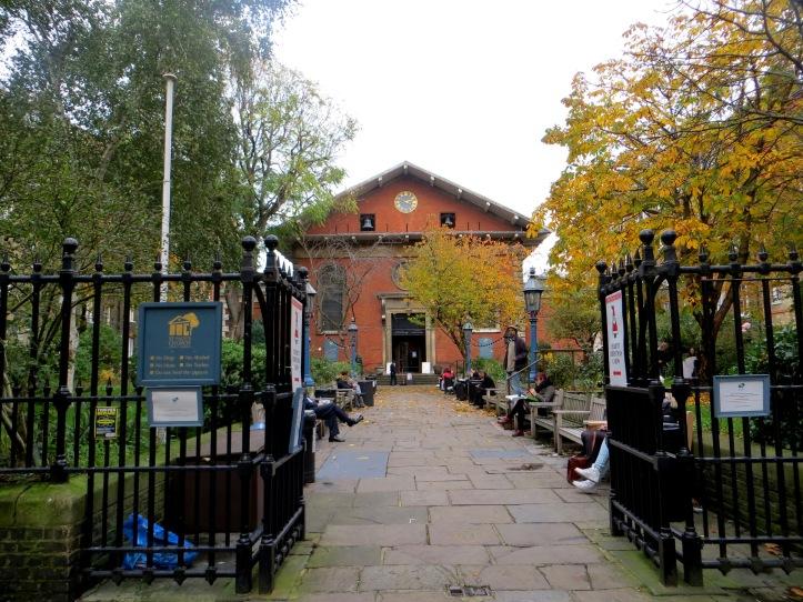 St Paul's Church, Covent Garden, the 'wrong' door