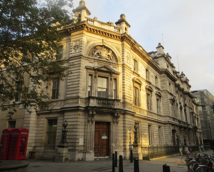 Bow Street Magistrate's Court
