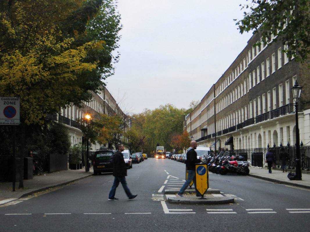 Bedford Row, leading to Russell Square