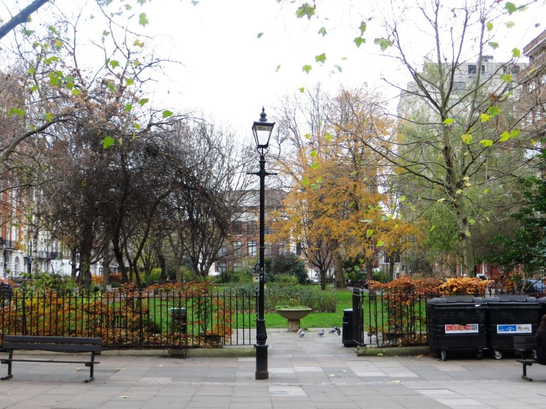 Today, Queen's Square looking northwards