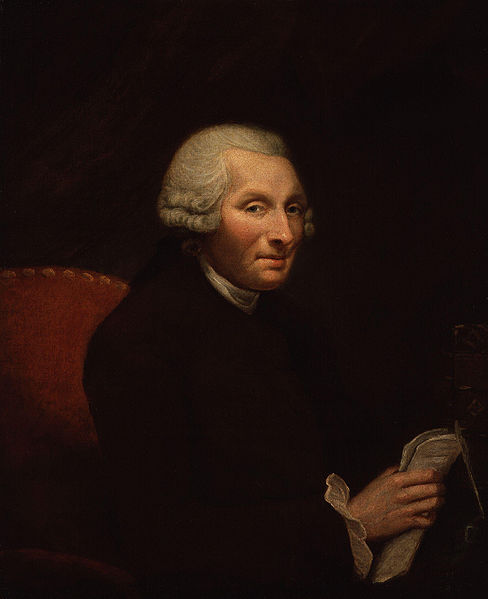 Jonas Hanway by James Northcote, c.1785