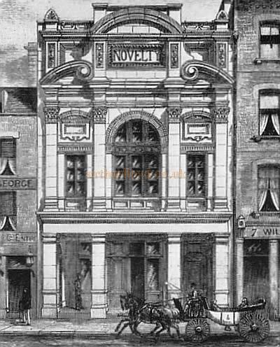 Novelty Theatre, Great Queen Street, 1882