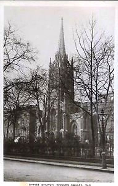 Christ Church Woburn Square from a postcard on EBay, 1930