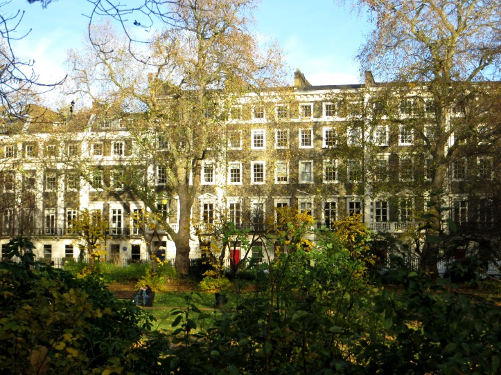 The west side of Gordon Square