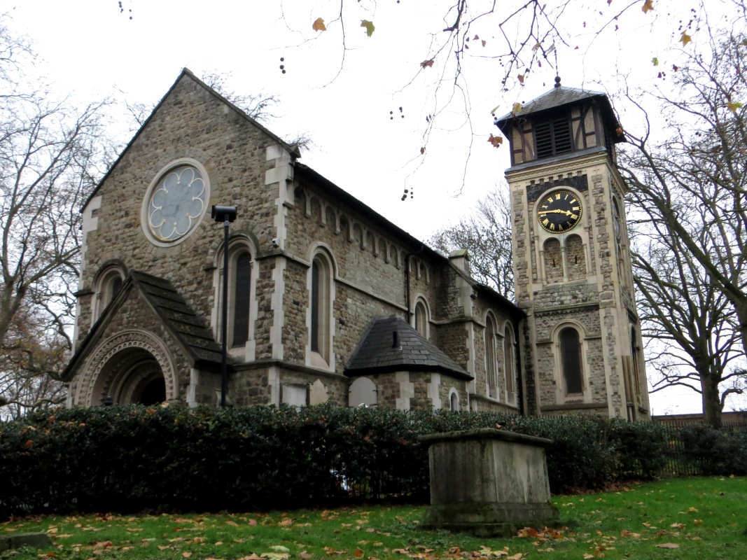 St Pancras Old Church today