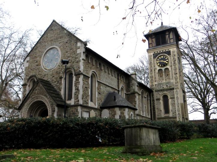 St Pancras Old Church today