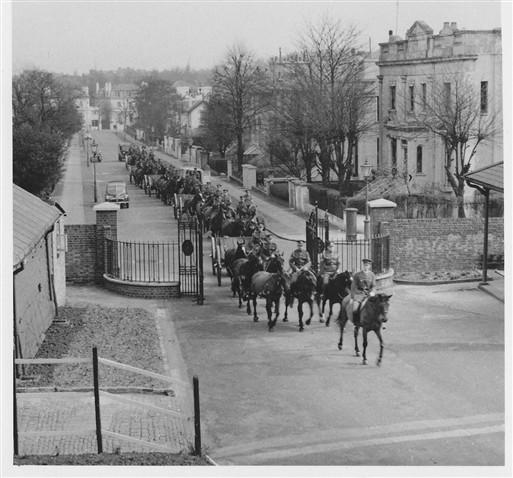 The Troop in Norfolk Road, 1956