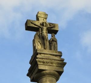 The head of the war memorial, St Mark's Church, NW8
