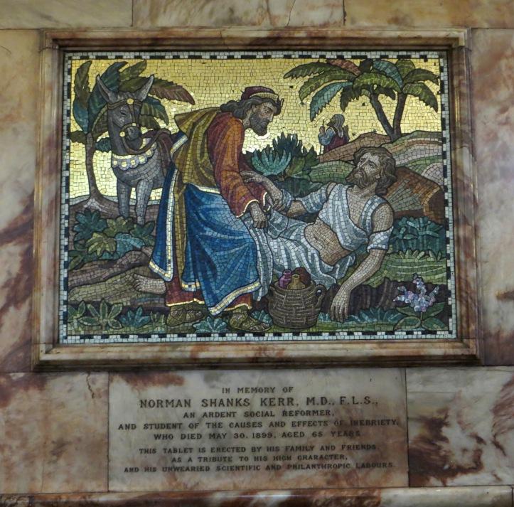 Mosaics in St Mark, St John's Wood