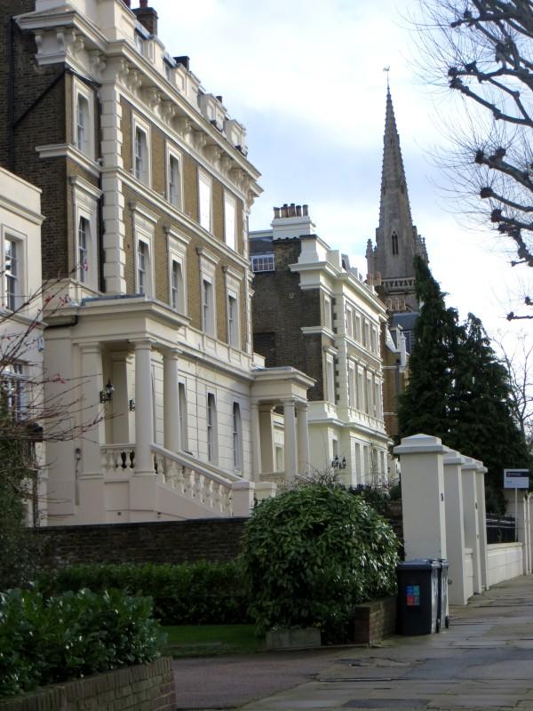 Semi-detached villas in St John's Wood