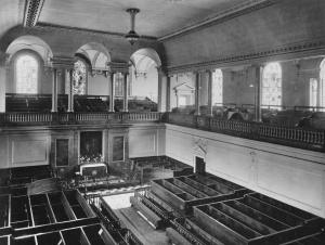 The Foundling Hospital Chapel, 1912