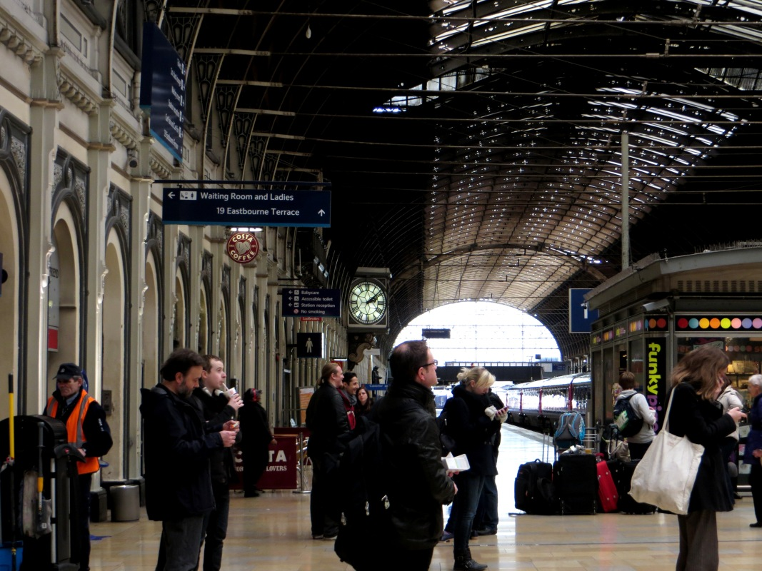 Interior of Paddington Station
