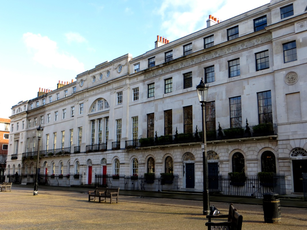 Fitzroy Square, the south side