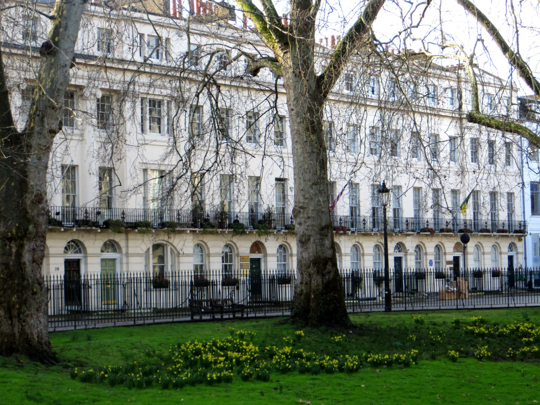 Fitzroy Square, west side