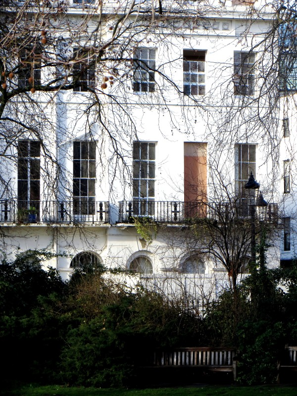 The north side of Fitzroy Square