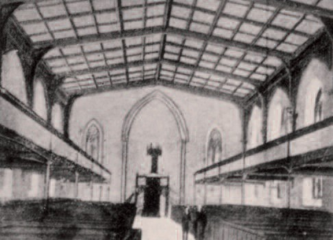 Regent Square Church, interior
