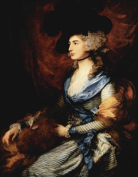 Sarah Siddons by Thomas GAinsborough