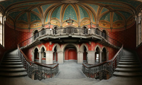 The interior of St Pancras Renaissance Hotel