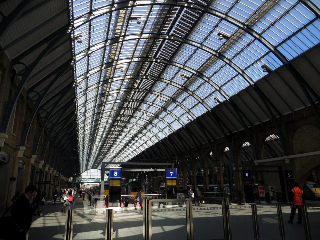 Interior of King's Cross Station