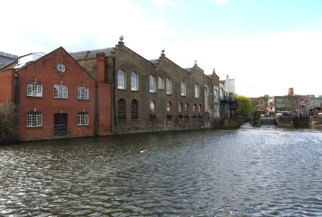 Warehouses at Hawley Lock, Camden Town