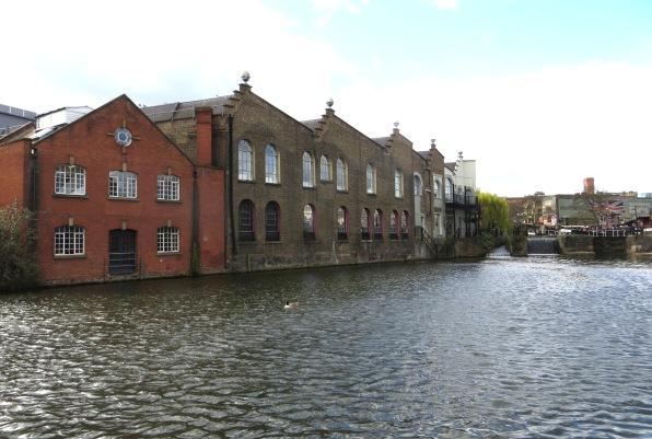 Warehouses at Hawley Lock, Camden Town