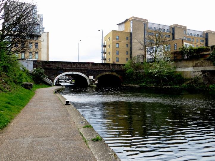 The Commercial Road crossing the Canal