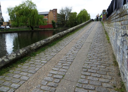 The bridge over the Hertford Union Canal