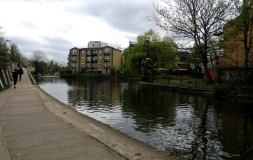 The turning basin in the Regent's Canal