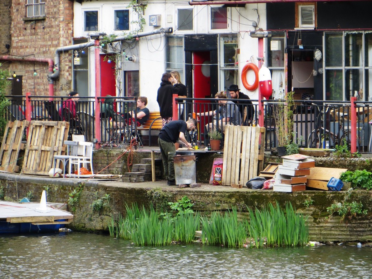 Canal-side BBQ
