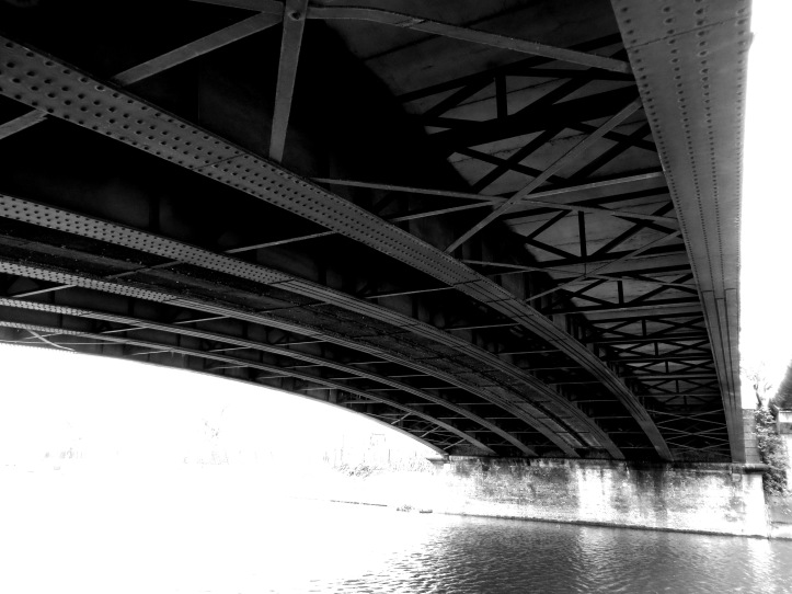 Bridge over Lee Navigation & River Lea
