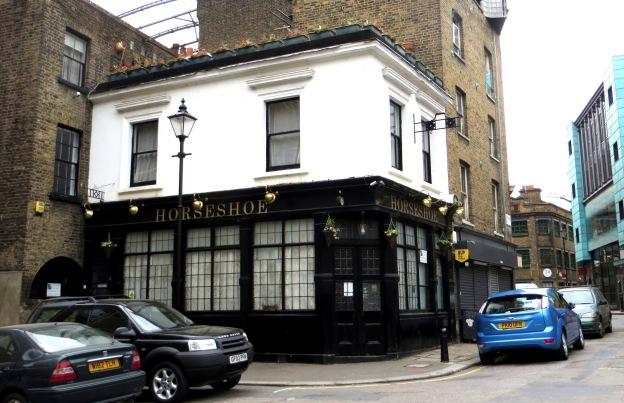 The Horseshoe Pub, early 19C, Clerkenwell Close