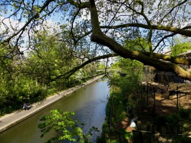 Regent's Canal at London Zoo