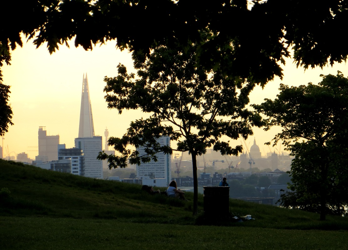The City from Greenwich Park