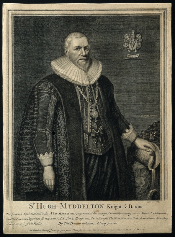 Sir Hugh Myddelton (http://catalogue.wellcomelibrary.org/record=b1170694)