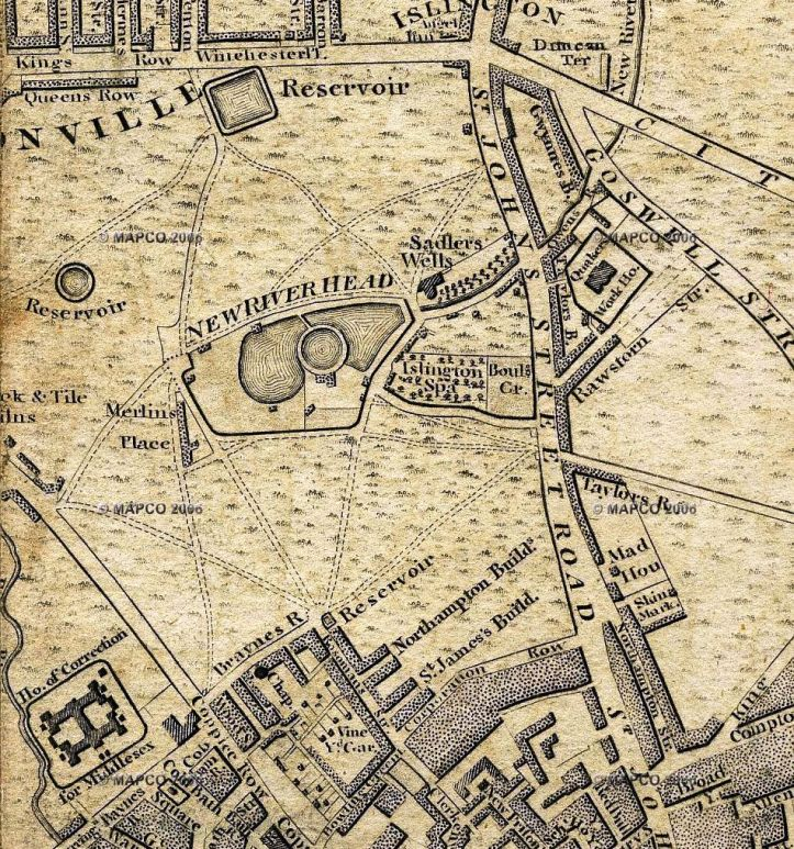 Wallis' Plan of London, 1801 (MapCo)