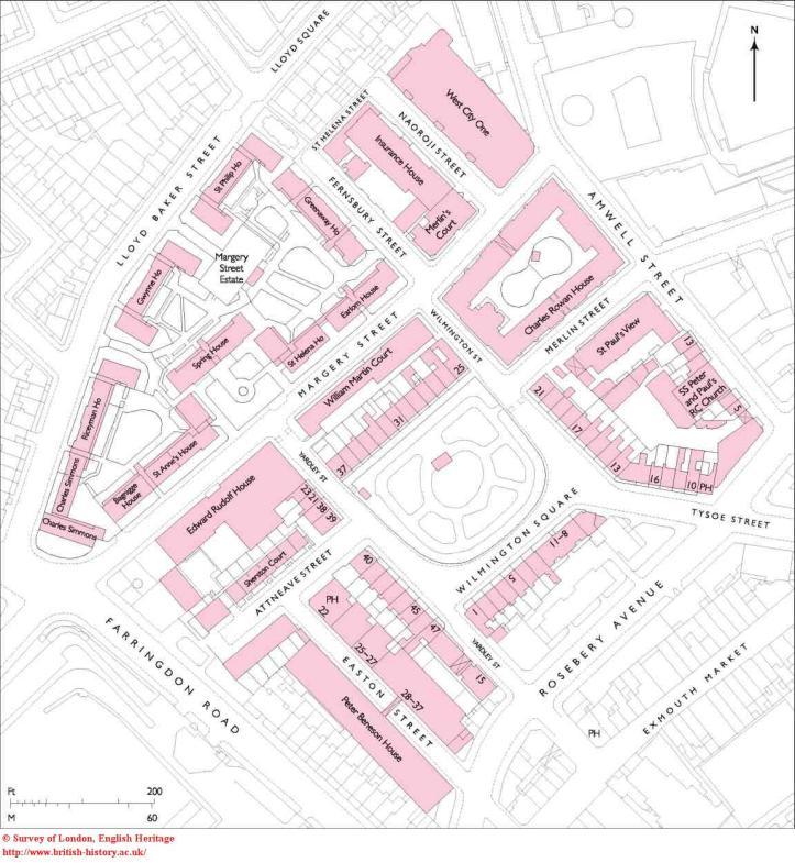 Wilmington Square Plan, British History Online