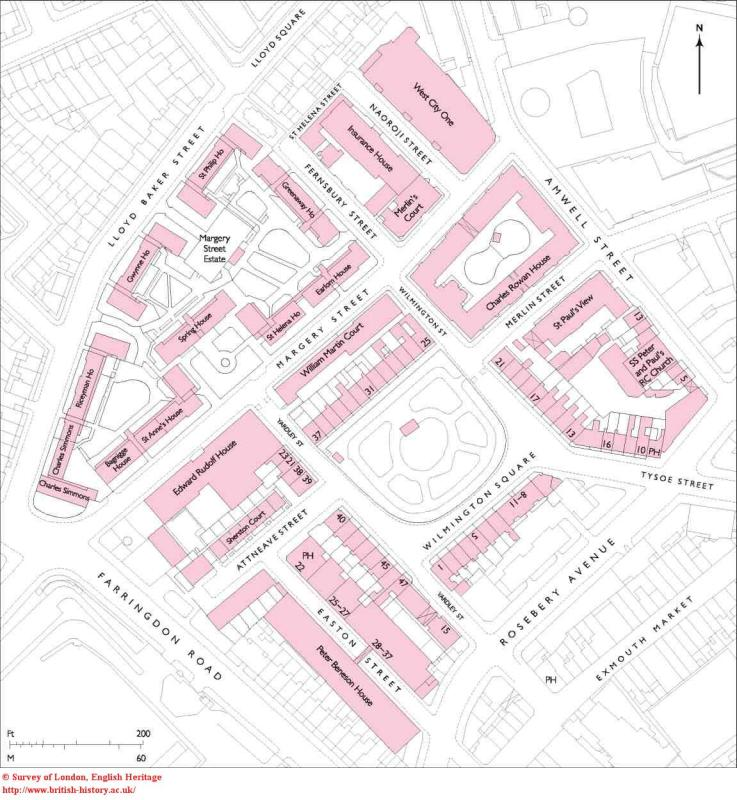Wilmington Square Plan, British History Online