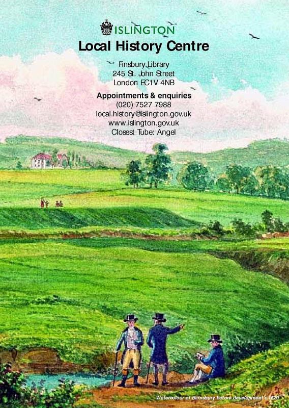 Barnsbury c.1820 (Islington Library Brochure)