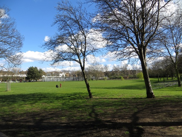 Caledonian Park, site of the market