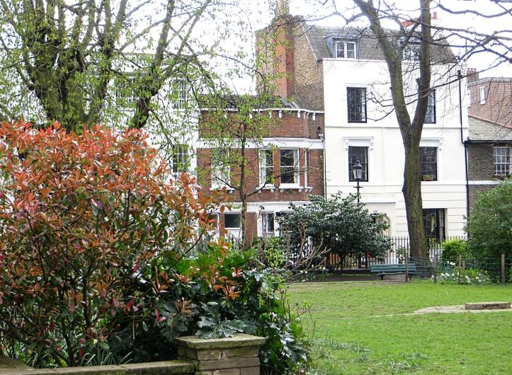 Houses at Barnsbury Square